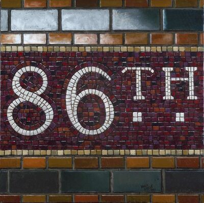 Daniel Greene, '86th St. - Mosaic', 2011
