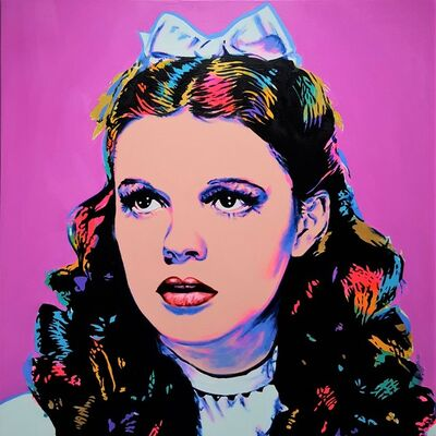 Jack Graves III, 'Dorothy Icon III (Judy Garland)', 2019