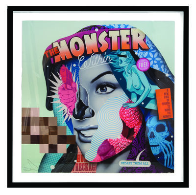 Tristan Eaton, 'The Monster Within'