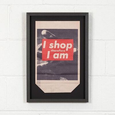 Barbara Kruger, 'I Shop Therefore', 1990
