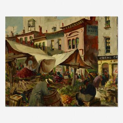 Henry Martin Gasser, 'The Market Place'
