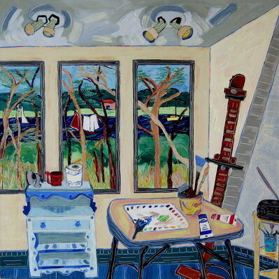 Nan Hass Feldman, 'Studio View Towards the Marsh', 2009