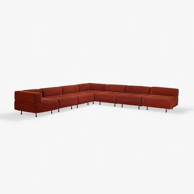 Harvey Probber, 'Seven-piece sectional Cubo sofa, USA'