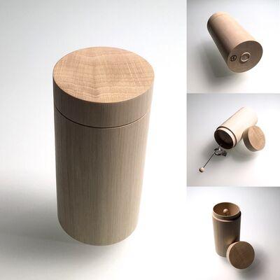Horst Kontak, 'Holzdose WV555', 2019