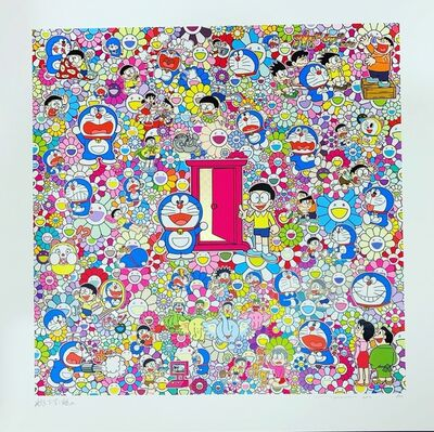 Takashi Murakami, 'Many Things Await Beyond Anywhere Door (Dokodemo Door)', 2019
