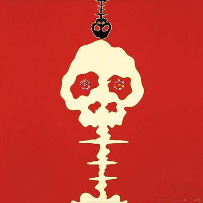 Takashi Murakami, 'Time Bokan- Missing in the Eyes- Red', 2006