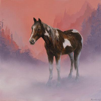 Brian Mashburn, 'Horse in Fog', 2020