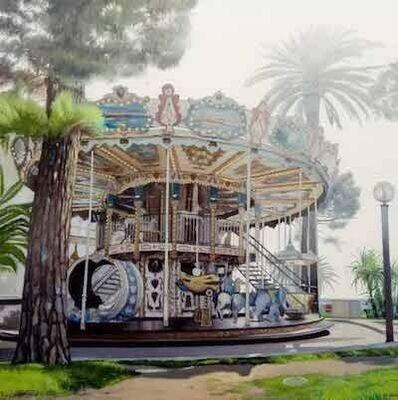 Juan Luis Jardi, 'Merry-go-round of Nice', 2019