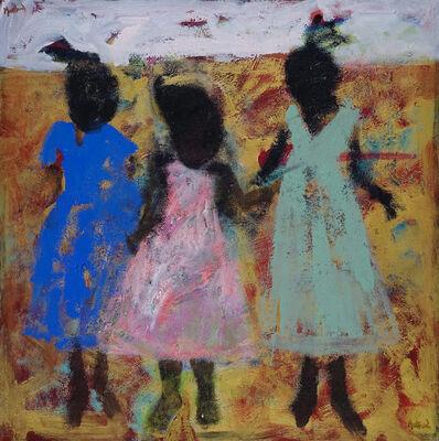 John Maitland, 'Little Ones on Gold', 2017