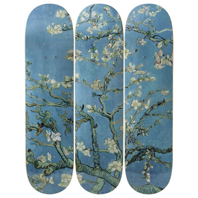 Vincent van Gogh, 'Almond Blossoms Skateboard Decks after Vincent Van Gogh', 2019