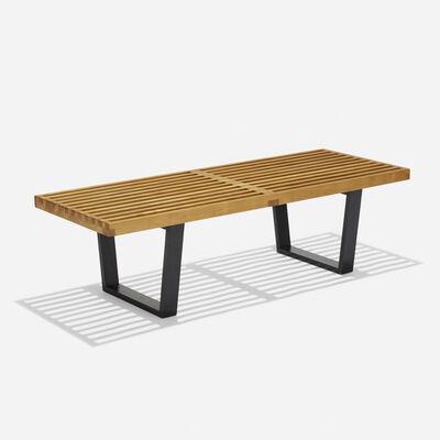 George Nelson & Associates, 'Slat bench, model 4690', 1946