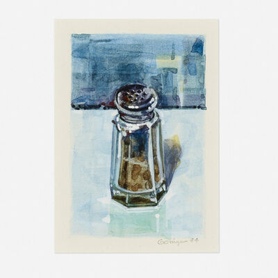 Ralph Goings, 'Pepper Shaker-Blue', 1994