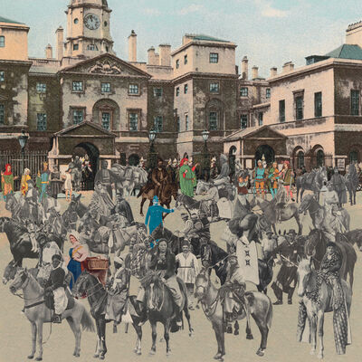 Peter Blake, 'London- Horse Guards Parade- Horses and Horsemen', 2012