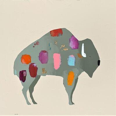 Trevor Mikula, 'Bison Splastly Springtime', 2019
