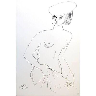 """Jean Cocteau, 'Original Lithograph """"Actress"""" by Jean Cocteau', 1956"""