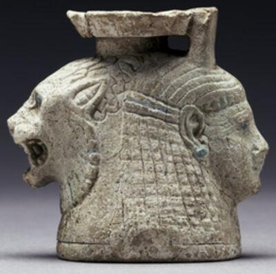 'Double-Headed Aryballos',  mid-6th century B.C.