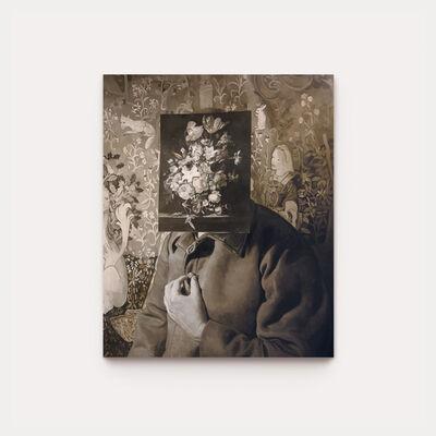 John Robinson, 'Hermit with Flowers', 2020