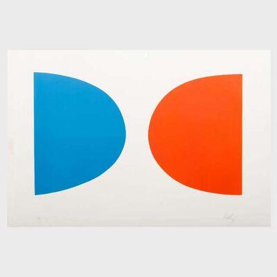 Ellsworth Kelly, 'Blue and Orange (Bleu et orange) from Suite of Twenty Seven Color Lithographs', 1964-1965
