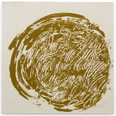 Günther Uecker, 'Ouroboros #6', 2018