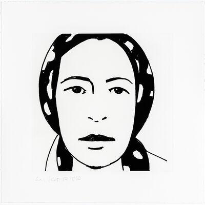 Alex Katz, 'Ada #1', 2017