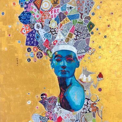 Hossam Dirar, 'The Golden Queen Nr. 1', 2019