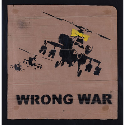 Banksy, 'Wrong war', 2003