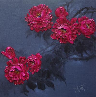 Yu Nancheng 于南澄, 'Peony Blossoms I', 2016