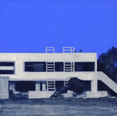 Marco Neri, 'Sotto al blu/casa', 2001