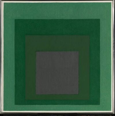 Josef Albers, 'Study for Homage to the square: Absorption', 1967