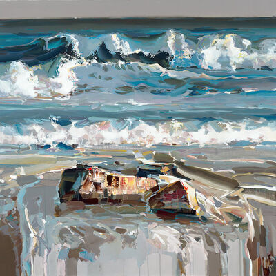 Josef Kote, 'Mesmerizing Waves ', ca. 2015