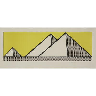 Roy Lichtenstein, 'Pyramids', 1969