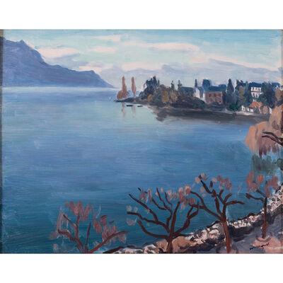 Albert Marquet, 'Brumes sur le lac léman, Montreux', 1937
