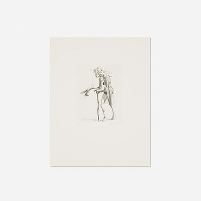 John Currin, 'The Beggar's Alms (for Parkett no. 65)', 2002