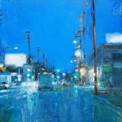 Trish Beckham, 'Early Evening on the Boulevard', 2020