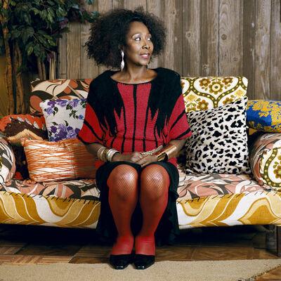 Mickalene Thomas, 'Sandra: She's a Beauty 2', 2012