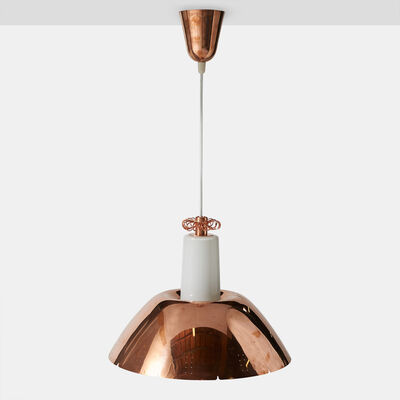 Paavo Tynell, 'Copper Pendant by Paavo Tynell Model #K2-20', 1950-1959