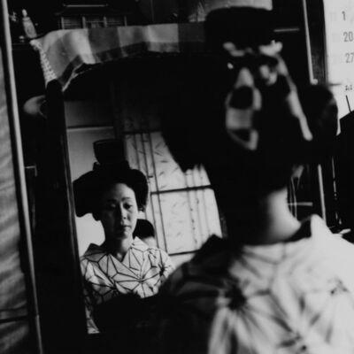 Toshio Enomoto, '074-Takasago Dayu in the mirror', 1982