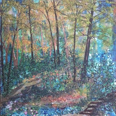 Laura Adams, 'Steps Down to Robinson Creek', 2019