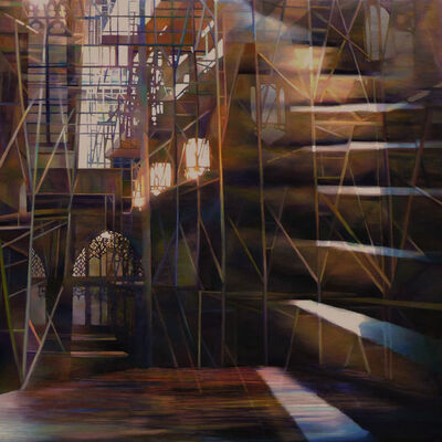 Nancy Newman Rice, 'Illuminated Staircase', 2014