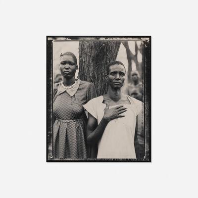 Fazal Sheikh, 'Ajoh Achot and Achol Manyen, Sudanese Refugee Camp, Lokichoggio, Kenya', 1992-93