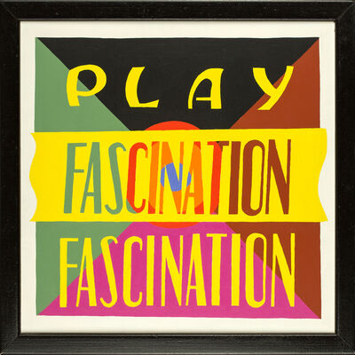 Philomena Marano, 'PLAY FASCINATION 2', 1990