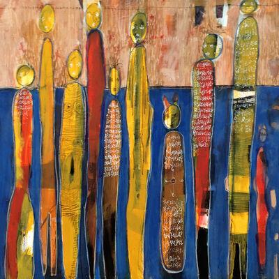 Hamed Ouattara, 'Le maison des esprits', 2008