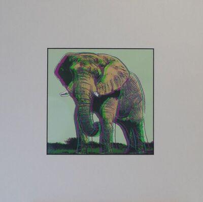 Andy Warhol, 'Elephant', 1987