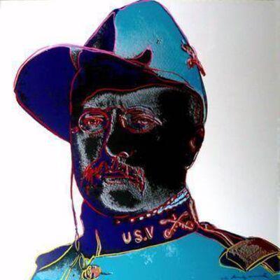 Andy Warhol, 'Teddy Roosevelt', 1986