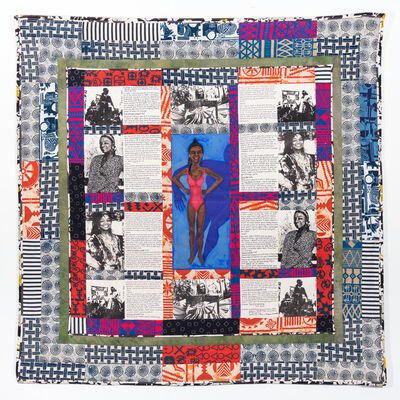 Faith Ringgold, 'Change 2: Faith Ringgold's Over 100 Pound Weight Loss Performance Story Quilt', 1988