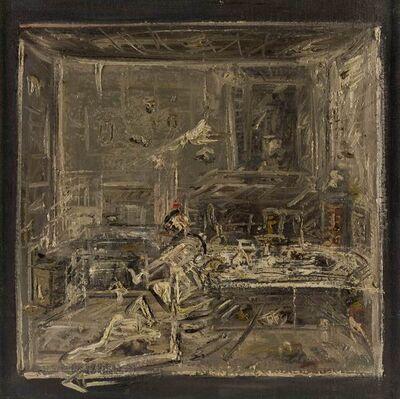 Giancarlo Ossola, 'Interno con figura', 1978