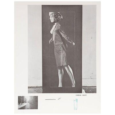 Michael Snow, 'Carla Bley, Walking Woman', 1965