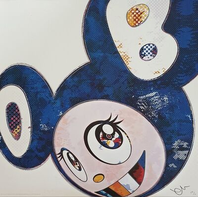 Takashi Murakami, 'And Then x 6 (Lapis Lazuli: The Superflat Method)', 2013