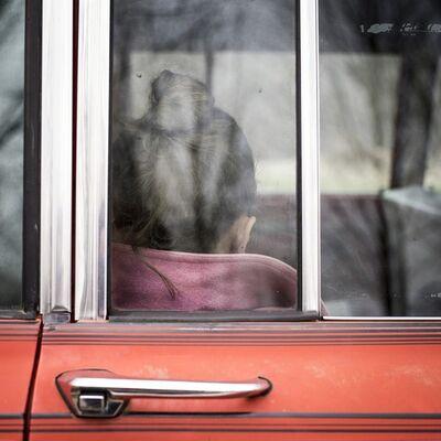 Cig Harvey, ' Ariel Waiting, Rockport, Maine', 2016