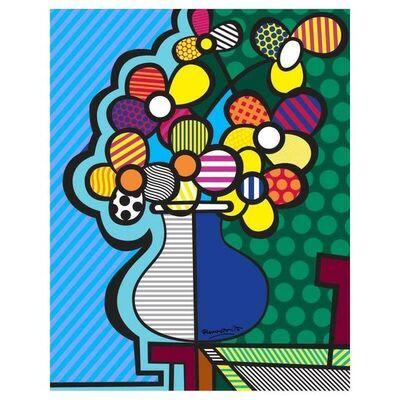 Romero Britto, 'New Flower', 2000-2020